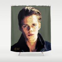 bill Shower Curtains featuring Bill by Aubrey Meeks