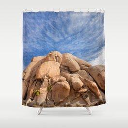 Joshua Tree Rocks Shower Curtain