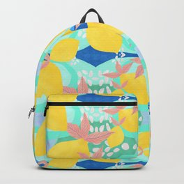 Pink Lemonade - Shapes and Layers no.32 Backpack