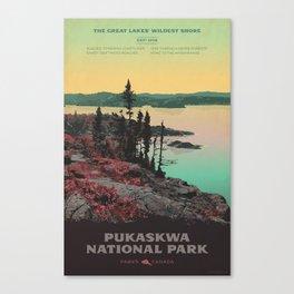 Pukaskwa National Park Canvas Print