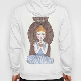 ballerina and bear Hoody