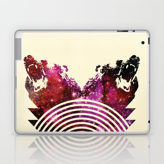 Its A Grizzly Space Out There Laptop & iPad Skin