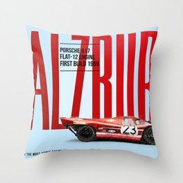 917 Salzburg Tribute Throw Pillow