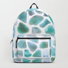 Amazonite stones Backpack