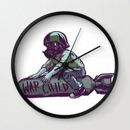 Warchild Wall Clock