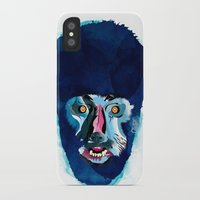 werewolf iPhone & iPod Cases featuring werewolf by Alvaro Tapia Hidalgo