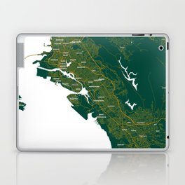 FanMap | MLB Oakland #08 Laptop & iPad Skin