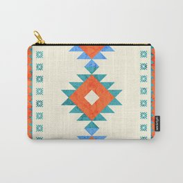 geometry navajo pattern no3 Carry-All Pouch