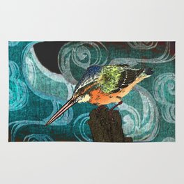 The King Fisher stake out Rug