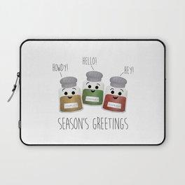 Season's Greetings | Garlic, Oregano & Paprika Laptop Sleeve