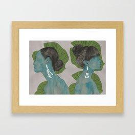 nilüfer Framed Art Print