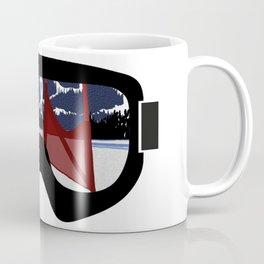 Race Day Goggles   DopeyArt Coffee Mug