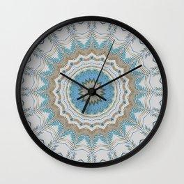 Dreamcatcher Teal Wall Clock