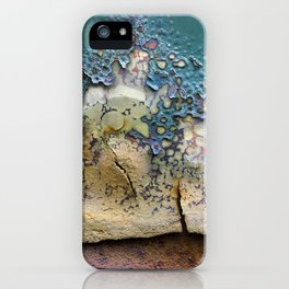 Teal Peel iPhone Case