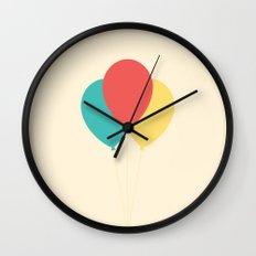 #45 Balloons Wall Clock