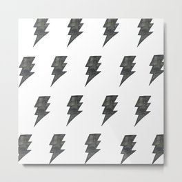 Thunder Stamped Metal Print