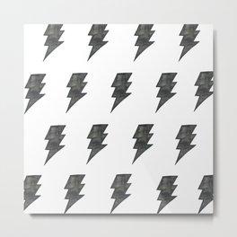 Thunder Stamped Metal Print