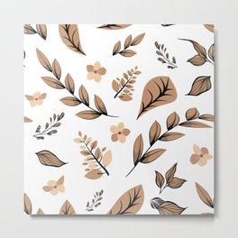 Flower Design Series 16 Metal Print
