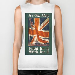 It's Our Flag Biker Tank