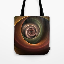 Fractal Depth And Warmth Tote Bag
