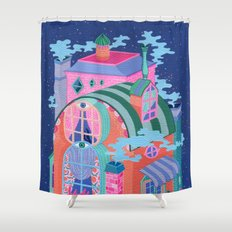 The Seeing House Shower Curtain