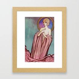 Uncover ver. 2  Framed Art Print