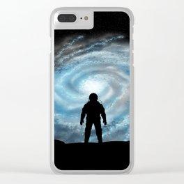 Alien Shores Clear iPhone Case