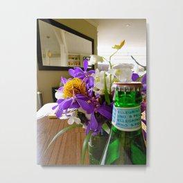 flowery morning Metal Print