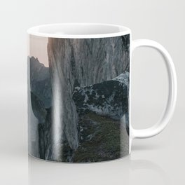 The Cliff - Landscape and Nature Photography Coffee Mug