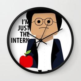 I'm Just the Intern Geek Wall Clock