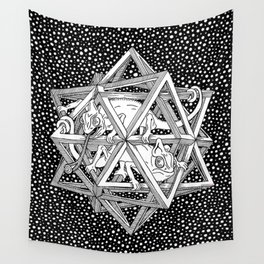 Escher - Stars Wall Tapestry
