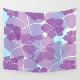 Purple Passion Wall Tapestry