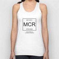 my chemical romance Tank Tops featuring My Chemical Romace Element by Merch Pug