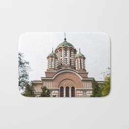 Roumania, Old Church of St. Eleutherius, Bucarest Bath Mat