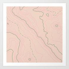 Maps Maps Maps Art Print
