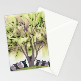 Wenatchee Whimsical Cats Stationery Cards