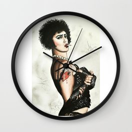 Frank N Furter Wall Clock