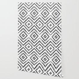 Grey Checkered Paattern Wallpaper