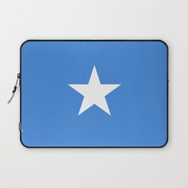 Flag of Somalia - Authentic High Quality image Laptop Sleeve
