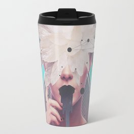 dark flower Travel Mug
