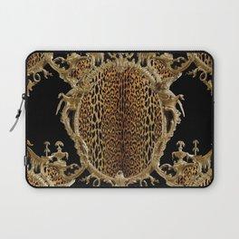 Leopard Chinoise Laptop Sleeve