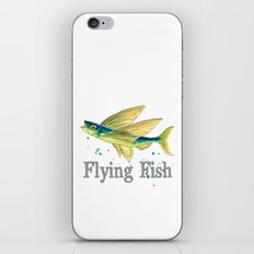 F is for Flying Fish iPhone Skin