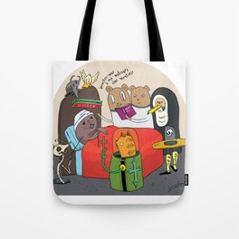 the sinner´s deadbed Tote Bag