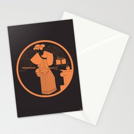 IRIS - the goddess of the rainbow and the messenger of the Olympian gods Stationery Cards