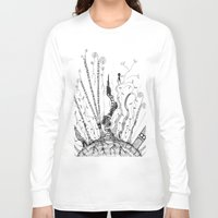 woods Long Sleeve T-shirts featuring Woods by Andrew Mark Pickin