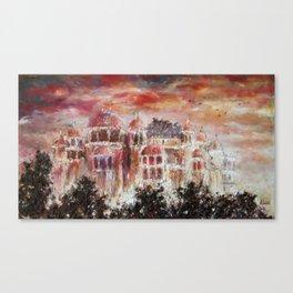 City Palace, India Canvas Print