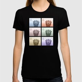 Eight Pop Art Cylinders T-shirt