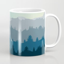 Face This Mountain (No Text) Coffee Mug
