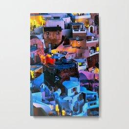 Santorini 18 Metal Print