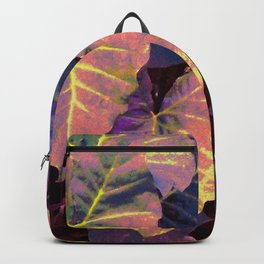 Elephant's Ear Leaves Backpack